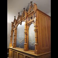 Berlin - Wedding, Paul-Gerhardt Stift, Kapelle, Orgel seitich