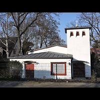 Berlin - Neukölln, Philipp-Melanchthon-Kapelle, Außenansicht der Kirche