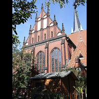 Berlin - Friedrichshain, Samariterkirche, Außenansicht der Kirche
