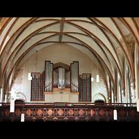 Berlin - Friedrichshain, Samariterkirche, Orgelempore