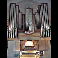 Berlin - Friedrichshain, Samariterkirche, Spieltisch und Orgel
