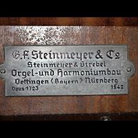 Berlin (Mitte), St. Adalbert, Erbauerschild