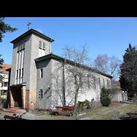 Berlin - Treptow, St. Anna, Außenansicht der Kirche