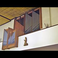 Berlin - Friedrichshain, St. Antonius, Orgel seitlich