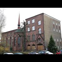 Berlin - Friedrichshain, St. Antonius, Außenansicht der Kirche