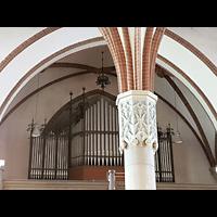 Berlin - Lichtenberg, St. Antonius und St. Shenouda Kirche (koptisch), ehem. Glaubenskirche, Orgelempore seitlich