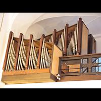 Berlin - Wilmersdorf, St. Gertrauden-Krankenhaus, Kapelle, Orgel seitlich