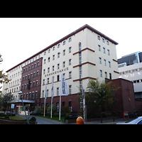 Berlin - Wilmersdorf, St. Gertrauden-Krankenhaus, Kapelle, Außenansicht
