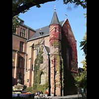 Berlin - Mitte, St. Hedwig-Krankenhaus (Alexianer), Marienkapelle, Registerstaffel