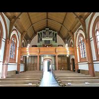 Berlin - Köpenick, St. Josef, Innenraum in Richtung Orgel