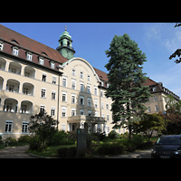 Berlin - Tempelhof, St. Joseph-Krankenhaus, Christ-König-Kapelle, Außenansicht