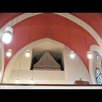 Berlin - Weißensee, St. Joseph-Krankenhaus, Kapelle (Alexianer), Orgelempore