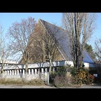 Berlin - Neukölln, St. Joseph Rudow, Außenansicht der Kirche