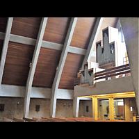 Berlin - Neukölln, St. Joseph Rudow, Orgelempore seitlich