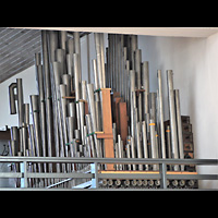 Berlin - Wilmersdorf, St. Karl Borromäus, Pfeifen des Hauptwerks