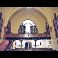 Berlin - Lichtenberg, St. Mauritius, Orgelempore