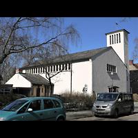 Berlin - Zehlendorf, St. Otto, Außenansicht der Kirche
