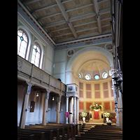 Berlin (Zehlendorf), St. Peter und Paul auf Nikolskoe (Wannsee), Innenraum in Richtung Altar