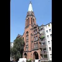 Berlin - Kreuzberg, St. Simeon, Außenansicht der Kirche