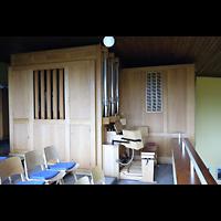 Berlin - Neukölln, St. Theresia vom Kinde Jesu, Orgel mit Spieltisch