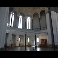 Berlin (Kreuzberg), St. Thomas (ev.) - Hauptorgel, Chororgel in der Vierung