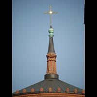 Berlin (Kreuzberg), St. Thomas (ev.) - Hauptorgel, Spitze der Vierungskuppel