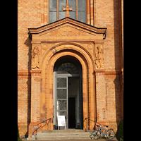 Berlin (Kreuzberg), St. Thomas (ev.) - Hauptorgel, Portal