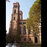 Berlin (Kreuzberg), St. Thomas (ev.) - Hauptorgel, Außenansicht seitlich