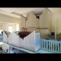 Berlin - Weißensee, Stephanus-Stiftung, Friedenskirche, Orgel seitlich