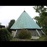Berlin - Zehlendorf, Stephanus-Kirche, Außenansicht der Kirche