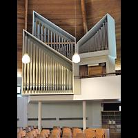 Berlin - Zehlendorf, Stephanus-Kirche, Orgelempore