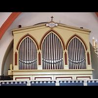 Berlin - Lichtenberg, Taborkirche Hohenschönhausen (Hauptorgel), Orgel