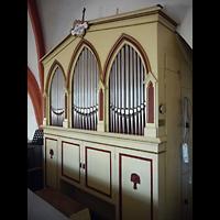 Berlin - Lichtenberg, Taborkirche Hohenschönhausen (Hauptorgel), Orgel seitlich