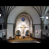 Berlin (Charlottenburg), Trinitatiskirche, Blick von der Orgelempore in die Kirche