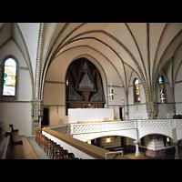 Berlin (Charlottenburg), Trinitatiskirche, Blick von der Seitenempore zur Orgel