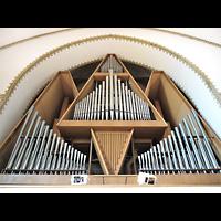 Berlin (Charlottenburg), Trinitatiskirche, Orgel perspektivisch
