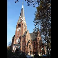 Berlin (Charlottenburg), Trinitatiskirche, Außenansicht der Kirche