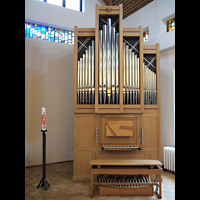 Berlin - Marzahn, Ev.-meth. Versöhnungskirche / Ev. Gemeindezentrum Biesdorf, Orgel