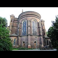 Berlin - Mitte, Zionskirche, Außenansicht von Chor