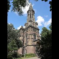Berlin - Mitte, Zionskirche, Außenansicht der Kirche