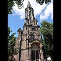 Berlin - Mitte, Zionskirche, Turm