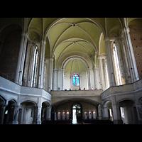 Berlin - Mitte, Zionskirche, Innenraum in Richtung zukünftiger Hauptorgel